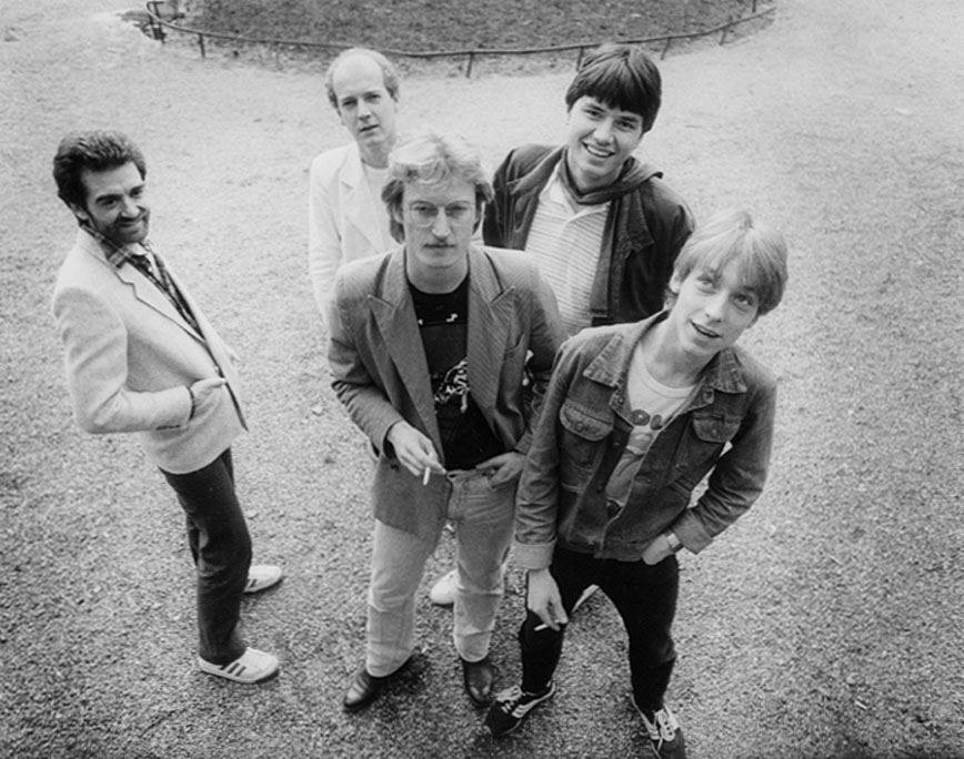 Band foto uit 1983
